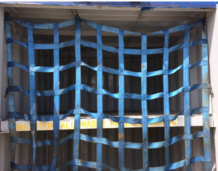 Webbing Cargo Net with Hook