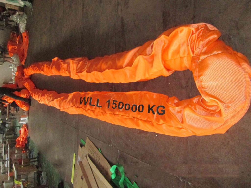 环状大吨位柔性吊带